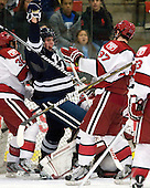 Rob O'Gara (Yale - 4) - The Yale University Bulldogs defeated the Harvard University Crimson 5-1 on Saturday, November 3, 2012, at Bright Hockey Center in Boston, Massachusetts.