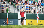 Wales Scott Quinnell tees off <br /> <br /> Celebrity Cup 2019 - Golf - Celtic Manor resort - Saturday 13th July 2019 - Newport<br /> <br /> © www.fotowales.com- PLEASE CREDIT IAN COOK
