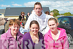 BARBEQUE: Enjoying the Barbeque in The Shannon Park, Tarbert on Sunday Evening before the Remembrance Service were front l-r: Teresa Kennelly, Maria Enright and Tres Kennelly. Back Ambrose Lanigan..