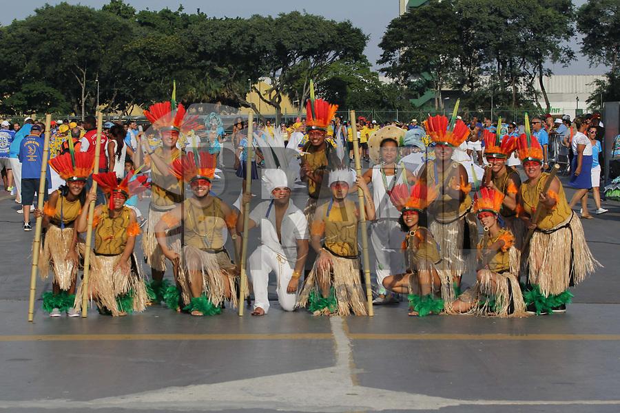 SÃO PAULO,SP,02.02.2019 - CARNAVAL-SP - Ensaio Técnico Geral da escola de samba Uirapuru da Mooca, no sambódromo do Anhembi localizado na zona norte de São Paulo na tarde deste sábado, 02. (Foto:Nelson Gariba /Brazil Photo Press)