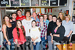 Actor Robert Sheehan his brother Brendan caused a stir when they arrived  in the Real Deal Burger Co, Killorglin on Friday night with his uncle James and cousins Garreth and Jesse include in picture are Nicola O'Gorman, Rory Atkinson, Emily Counihan, Louise Counihan, Saoirse O'Carroll, Angela Sheehan, Lavina O'Shea, Brid Sheehan, Joy Hawkridge and Claire Counihan