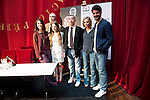 """Spanish director Jose Luis Garci and the cast during the presentation of the new production of the Spanish Theater """"Arte Nuevo""""  at spanish theater in Madrid, February 16, 2016<br /> (ALTERPHOTOS/BorjaB.Hojas)"""