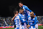 CD Leganes's  Jonathan Silva, Youssef En-Nesyri, Oscar Rodriguez Arnaiz and Martin Braithwaite during La Liga match 2019/2020 round 16<br /> December 8, 2019. <br /> (ALTERPHOTOS/David Jar)