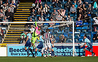Goalkeeper Jamal Blackman of Wycombe Wanderers (on loan from Chelsea) during the Sky Bet League 2 match between Wycombe Wanderers and Notts County at Adams Park, High Wycombe, England on the 25th March 2017. Photo by Liam McAvoy.