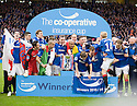 :: RANGERS' PLAYERS CELEBRATE WINNING THE 2011 CO-OPERATIVE INSURANCE CUP ::