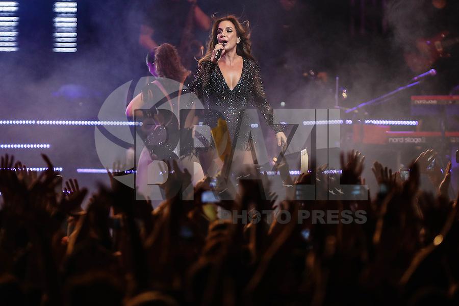SÃO PAULO, SP, 22.07.2016 - SHOW-SP - A cantora brasileira Ivete Sangalo durante show no Citibank Hall na região sul da cidade de São Paulo, nesta sexta-feira (22). (Foto: Vanessa Carvalho/Brazil Photo Press)