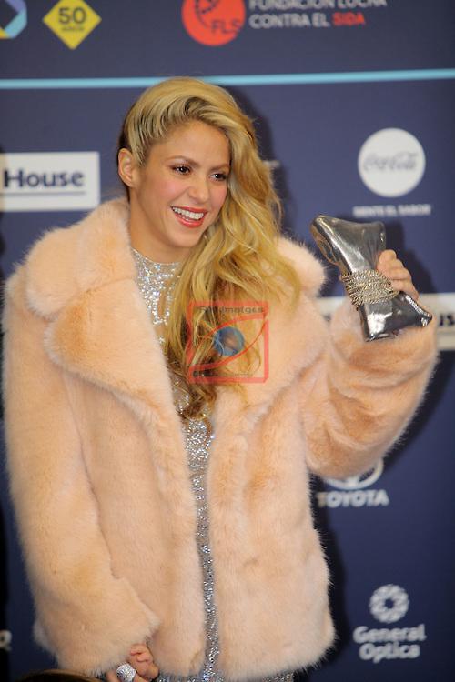 Los 40 MUSIC Awards 2016 - Photocall.<br /> Shakira.