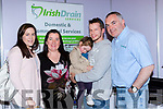 Alayne O'Sullivan Mary B Teahan, Grace and Gavin O'Leary and Liam Brosnan at the Kerry Expo in the INEC on Sunday
