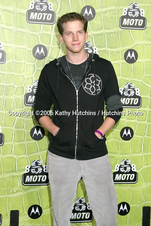 Stark Sands.Moto 8 Party.Palladium .Los Angeles, CA.November 2, 2006.©2006 Kathy Hutchins / Hutchins Photo....                 .