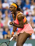 Serena Williams (USA) defeats Timea Bacsinszky (SUI) 75 63