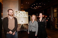 Montreal (Qc) CANADA, November 6, 2007-<br /> Stephane Lafleur, director,<br /> Marie-Ginette Guay, actress,<br /> <br /> Continental - Un film sans fusil at Ex-Centris<br /> photo (c) Pierre Roussel -  Images Distribution