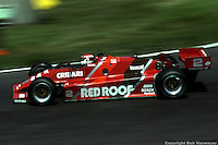 Bobby Rahal drives during the 1983 IndyCar race at Burke Lakefront Airport in Cleveland, Ohio.