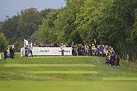 Lee Westwood (ENG) on the 5th tee during Round 3 of the D+D Real Czech Masters at the Albatross Golf Resort, Prague, Czech Rep. 02/09/2017<br /> Picture: Golffile | Thos Caffrey<br /> <br /> <br /> All photo usage must carry mandatory copyright credit     (&copy; Golffile | Thos Caffrey)