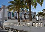 Domus Municipalis town hall local government office,  village of Castro Verde, Baixo Alentejo, Portugal, southern Europe