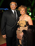 Rufas and Yvonne Cormier at the Discovery Green Gala Saturday Feb 25,2012. (Dave Rossman/For the Chronicle)