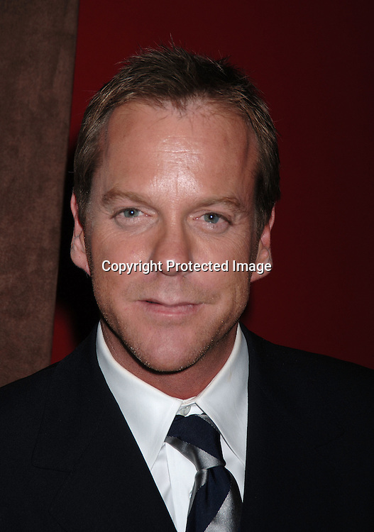 Keifer Ssutherland..at The Fox Upfront 2006-2007  Fall Announcement ..of their new Schedule on May 18, 2006..at Guastavinos...Robin Platzer, Twin Images