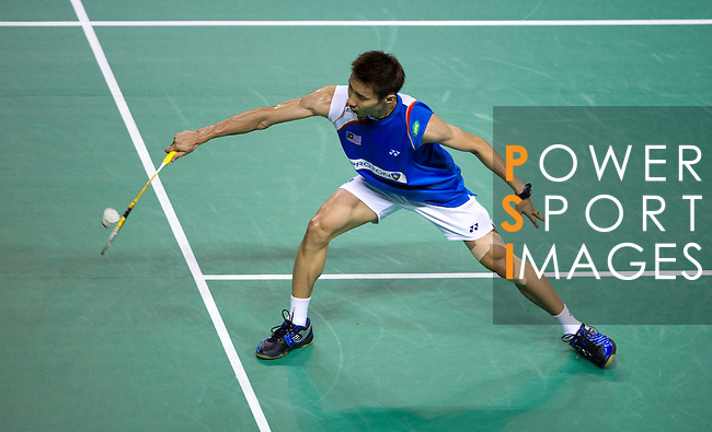 29 July 2010, Macau, China --- Yonex's player Lee Chong Wei of Malaysia in action during the Macau Open Grand Prix 2010, wich is part of the Badminton World Federation tournament. Photo by Victor Fraile --- Image by © Victor Fraile