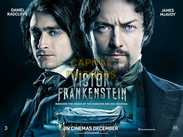 Victor Frankenstein (2015) <br /> POSTER ART<br /> *Filmstill - Editorial Use Only*<br /> CAP/KFS<br /> Image supplied by Capital Pictures