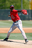Esmerlin Jimenez - Los Angeles Angels - 2009 spring training.Photo by:  Bill Mitchell/Four Seam Images