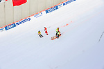 HOLMENKOLLEN, OSLO, NORWAY - March 17: Anja Tepes of Slovenia (SLO) after crashing during the Ladies FIS Ski Jumping World Cup from the large hill HS 134 Holmenkollbakken on March 17, 2013 in Oslo, Norway. (Photo by Dirk Markgraf)
