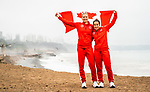 Lima, Peru -  1/September/2019 -   Carla Shibley and Meghan Lemiski will carry the Canadian flag in the closing ceremony at the Parapan Am Games in Lima, Peru. Photo: Dave Holland/Canadian Paralympic Committee.