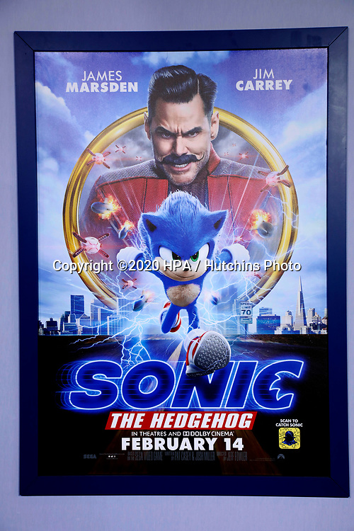 """LOS ANGELES - FEB 12:  General Atmosphere at the """"Sonic The Hedgehog"""" Special Screening at the Village Theater on February 12, 2020 in Westwood, CA"""