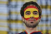 Football - Spain v Republic of Ireland - UEFA EURO 2012 Group C  - Arena Gdansk, Gdansk, Poland - 14/6/12..Spain fan before the match..Mandatory Credit: Action Images / Tony O'Brien..Livepic