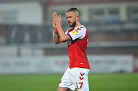 Fleetwood Town's Paddy Madden applauds the fans<br /> <br /> Photographer Richard Martin-Roberts/CameraSport<br /> <br /> The EFL Sky Bet League One - Fleetwood Town v Doncaster Rovers - Wednesday 26th December 2018 - Highbury Stadium - Fleetwood<br /> <br /> World Copyright © 2018 CameraSport. All rights reserved. 43 Linden Ave. Countesthorpe. Leicester. England. LE8 5PG - Tel: +44 (0) 116 277 4147 - admin@camerasport.com - www.camerasport.com