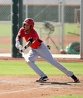 Billy Hamilton - Cincinnati Reds - 2010 Instructional League.Photo by:  Bill Mitchell/Four Seam Images..