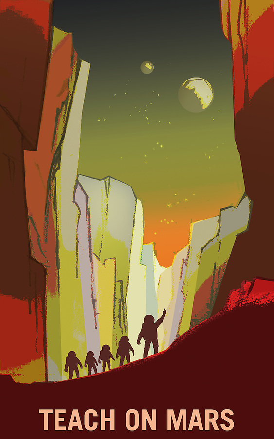 Mars - Teachers Wanted