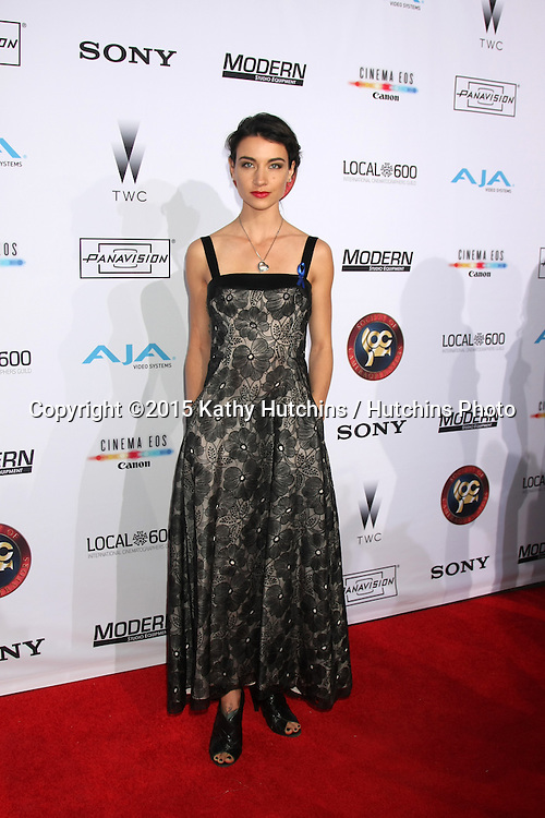 LOS ANGELES - FEB 8:  Courtney Palm at the 2015 Society Of Camera Operators Lifetime Achievement Awards at a Paramount Theater on February 8, 2015 in Los Angeles, CA