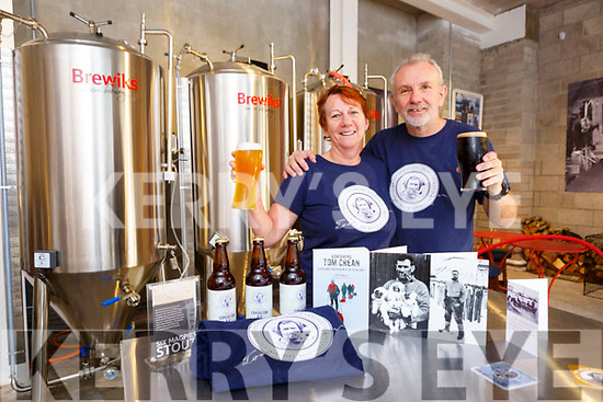 Aileen Crean-O'Brien and Bill Sheppard in the Tom Crean Brewery Kenmare