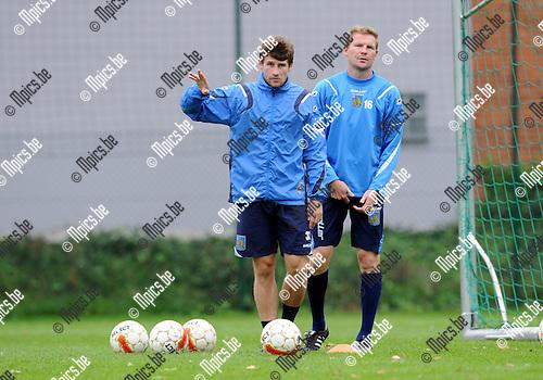 2011-10-11 / Voetbal / seizoen 2011-2012 / KVC Westerlo / Gunther Vanaudenaerde..Foto: Mpics
