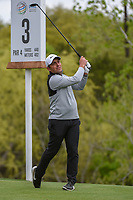 Francesco Molinari (ITA) watches his tee shot on 3 during day 5 of the WGC Dell Match Play, at the Austin Country Club, Austin, Texas, USA. 3/31/2019.<br /> Picture: Golffile | Ken Murray<br /> <br /> <br /> All photo usage must carry mandatory copyright credit (&copy; Golffile | Ken Murray)