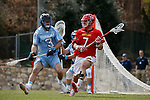 2017 March 25: Tim Rotanz #7 of Maryland Terrapins during a 15-7 win over the North Carolina Tar Heels at Fetzer Field in Chapel Hill, NC.