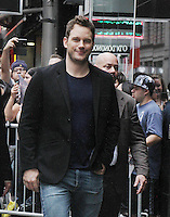 NEW YORK, NY-September 19:Chris Pratt at Good Morning America  to talk about his new movie The Magnificent Sevenat in New York. September 19, 2016. Credit:RW/MediaPunch
