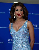 Fox News and Fox Business Network commentator Angela McGlowan arrives for the 2018 White House Correspondents Association Annual Dinner at the Washington Hilton Hotel on Saturday, April 28, 2018.<br /> Credit: Ron Sachs / CNP<br /> <br /> (RESTRICTION: NO New York or New Jersey Newspapers or newspapers within a 75 mile radius of New York City)
