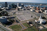 1994 November 09.Redevelopment..Macarthur Center.Downtown North (R-8)..BEFORE.LOOKING SOUTHWEST...NEG#.NRHA#..