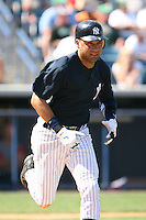 March 17th 2008:  Derek Jeter of the New York Yankees during a Spring Training game at Legends Field in Tampa, FL.  Photo by:  Mike Janes/Four Seam Images