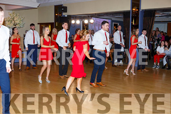 The opening dance at the Ballymac Strictly Love dancing in the Ballygarry House Hotel on Saturday.