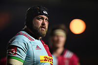 Mark Lambert of Harlequins looks on. Aviva Premiership match, between Harlequins and Sale Sharks on October 6, 2017 at the Twickenham Stoop in London, England. Photo by: Patrick Khachfe / JMP
