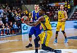 Kerron JOHNSON (#3 MHP Riesen Ludwigsburg) \Rasid MAHALBASIC (#24 EWE Baskets Oldenburg) \ beim Spiel MHP RIESEN Ludwigsburg - EWE Baskets Oldenburg.<br /> <br /> Foto &copy; PIX-Sportfotos *** Foto ist honorarpflichtig! *** Auf Anfrage in hoeherer Qualitaet/Aufloesung. Belegexemplar erbeten. Veroeffentlichung ausschliesslich fuer journalistisch-publizistische Zwecke. For editorial use only.