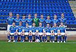 St Johnstone FC Academy Under 17's<br /> Back from left, Nathan Brown, Shaun Struthers, Kyle Wilcox, David Brown, Patrick Martin, Joe Johnson, Cameron Lumsden, Euan O'Reilly and Ben Quigley.<br /> Front from left, Morgan Miller, Cameron Ballantyne, Jamie Docherty, Jamie MacKenzie, Blaine Duncan, Cameron Thomson, Alistair McCann and Gavin Brown.<br /> Picture by Graeme Hart.<br /> Copyright Perthshire Picture Agency<br /> Tel: 01738 623350  Mobile: 07990 594431