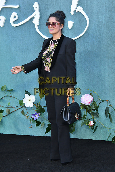 LONDON, ENGLAND - SEPTEMBER 06: Salma Hayek attends the UK premiere of 'Mother!' at the Odeon Leicester Square on September 6, 2017 in London, England. <br /> CAP/JOR<br /> &copy;JOR/Capital Pictures