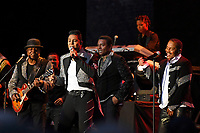 LONDON, ENGLAND - JUNE 7: Tito Jackson, Jermaine Jackson, Jackie Jackson and Marlon Jackson of 'The Jacksons' performing at Hampton Court Palace on June 7, 2019 in London, England.<br /> CAP/MAR<br /> ©MAR/Capital Pictures