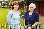 Sr Bernadette Purcell and Sr Elizabeth Gilmartin at the Ardfert Retreat Centre on Saturday.