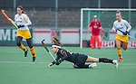 AMSTELVEEN - Eva de Goede (Adam)  tijdens de hoofdklasse hockeywedstrijd dames,  Amsterdam-Den Bosch (1-1).    COPYRIGHT KOEN SUYK