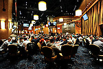 A view of the Mohegan Sun Poker Room, which is being used for the tournament as well as the convention center.