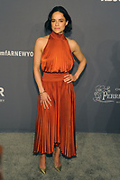 NEW YORK, NY - FEBRUARY 6: Michelle Rodriguez arriving at the 21st annual amfAR Gala New York benefit for AIDS research during New York Fashion Week at Cipriani Wall Street in New York City on February 6, 2019. <br /> CAP/MPI/JP<br /> &copy;JP/MPI/Capital Pictures