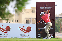 Grant Forrest (SCO) in action during round 3, Ras Al Khaimah Challenge Tour Grand Final played at Al Hamra Golf Club, Ras Al Khaimah, UAE. 02/11/2018<br /> Picture: Golffile | Phil Inglis<br /> <br /> All photo usage must carry mandatory copyright credit (&copy; Golffile | Phil Inglis)